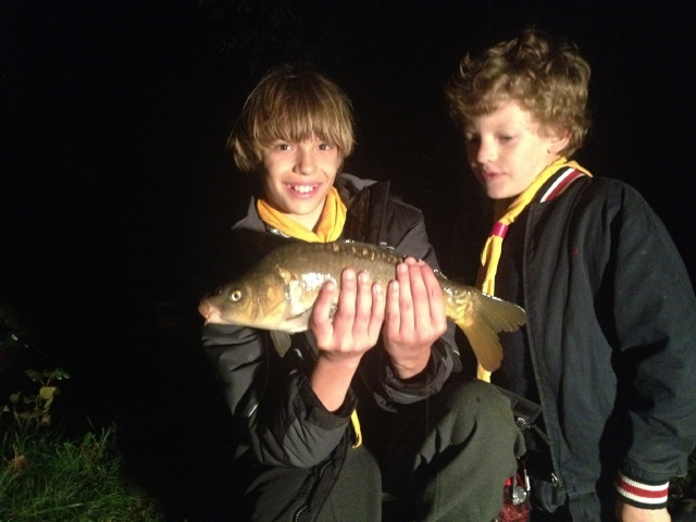 The only fish in the lakes?