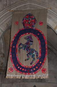poppy display romsey abbey